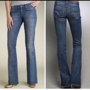 Joe's Jeans Rocker Skinny Flare Jeans Medium Wash